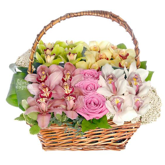 Корзина «Fleurs de l'amour»