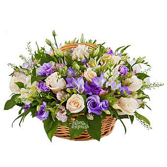Букет Корзина «Приятный подарок»