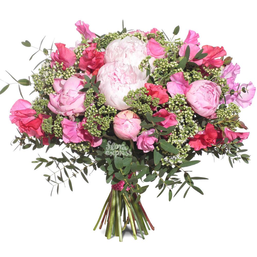 Букет «Flora Express», Розовый сюрприз