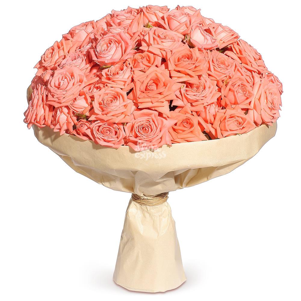 Букет «Flora Express» Большой букет роз фото